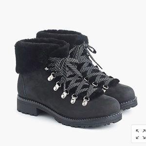 Jcrew Nordic Boots - black